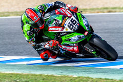 Tom Sykes pilot of Superbikes SBK Royalty Free Stock Images