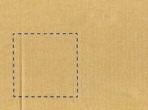 tom tabell för papp royaltyfri bild