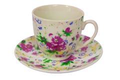tom tea för kaffekopp Arkivbild