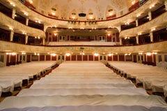 tom teater royaltyfri fotografi