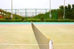 Tom tennisbana Royaltyfri Bild