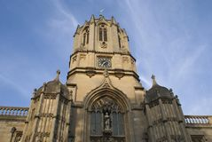 Tom Tower, bell tower, Christ Church, Oxford, England Stock Image