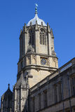 Tom Tower at Christ Church College in Oxford Royalty Free Stock Image