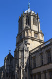Tom Tower at Christ Church College in Oxford Stock Images