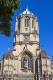 Tom Tower i Oxford Royaltyfri Fotografi