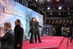 Tom Tykwer, Andrew Wachowski - άτλαντας σύννεφων - πρεμιέρα Στοκ Εικόνα