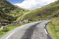 Tom väg Irland 0025 Royaltyfria Bilder