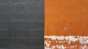 Tom velho da cor do fundo da pedra do teste padrão da parede fotos de stock