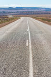 Tom väg på vildmark västra Australien Royaltyfri Bild