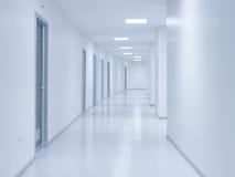 Tom vit korridorbakgrund Royaltyfri Fotografi