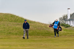 Tom Watson  at the 2011 open Royalty Free Stock Photo