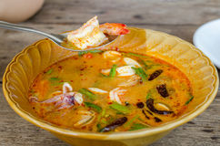 Tom Yam chaud Images stock