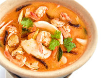 Tom Yam Goong Royalty Free Stock Photos