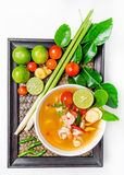 Tom yam kong stock photography