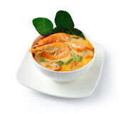 Tom Yam Kung soup Royalty Free Stock Photography