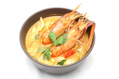 Tom yam kung soup Royalty Free Stock Images