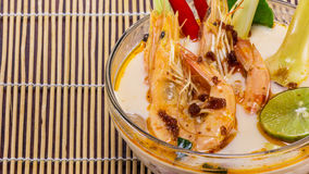 Tom yam kung soup from Thailand Stock Photos