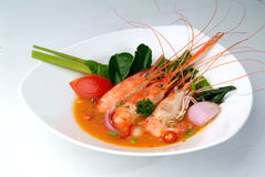 Tom Yam Kung. Spicy Shrimp Soup Royalty Free Stock Image