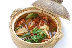 Tom yam kung , thai cuisine Royalty Free Stock Image