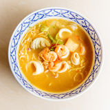 Tom yam kung thai cuisine Royalty Free Stock Images