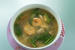 Tom Yam Kung,Thai cuisine Royalty Free Stock Photo