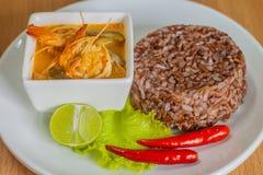 Tom Yam Kung (Thaise keuken) Stock Fotografie