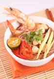 Tom Yam Mee Hoon Royalty Free Stock Image