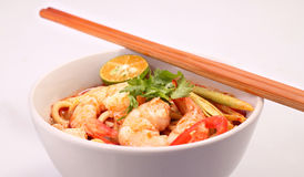 Tom Yam Noodle Photos stock