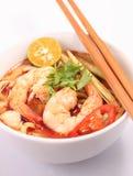 Tom Yam Noodle Arkivfoto
