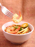 Tom Yam Noodle Photo stock