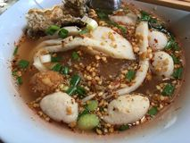 Tom Yam Noodle stock foto