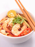 Tom Yam Noodle Stock Photo