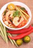 Tom Yam Noodle Stock Image