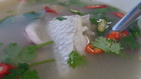 Tom Yam Pla  favourite Thai food Royalty Free Stock Photo