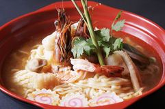 Tom Yam Ramen Stock Images