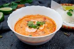 Tom Yam-soep stock foto's