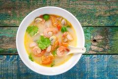 Tom Yam soppa Royaltyfria Foton