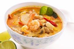Tom yam soup Stock Image