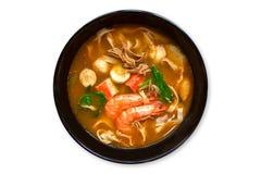 Tom Yam Soup Royalty-vrije Stock Foto's