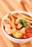 Tom Yam Soup Photographie stock