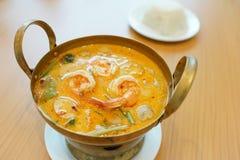 Tom Yam Soup, comida popular tailandesa imagen de archivo libre de regalías