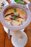 Tom yam soup, Ethnic thai dish Stock Images