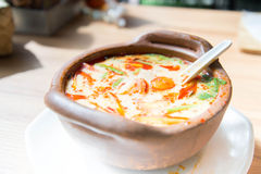 Tom yam soup Stock Photos