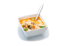 Tom Yam soup Stock Photo