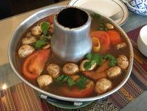 Tom Yam Soup Royalty Free Stock Photo
