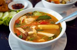 Tom yam soup Stock Images