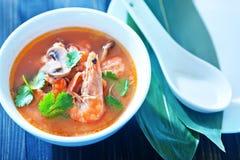 Tom yam soup Stock Photos