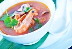Tom yam soup Stock Photo