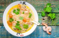 Tom Yam soup Royalty Free Stock Images