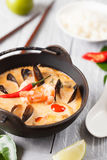 Tom Yam-Suppe Stockbild